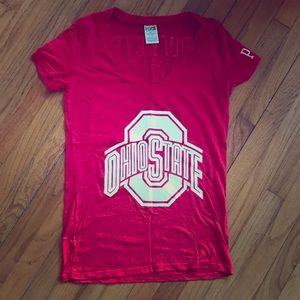 VS Pink Ohio State v-neck sz S